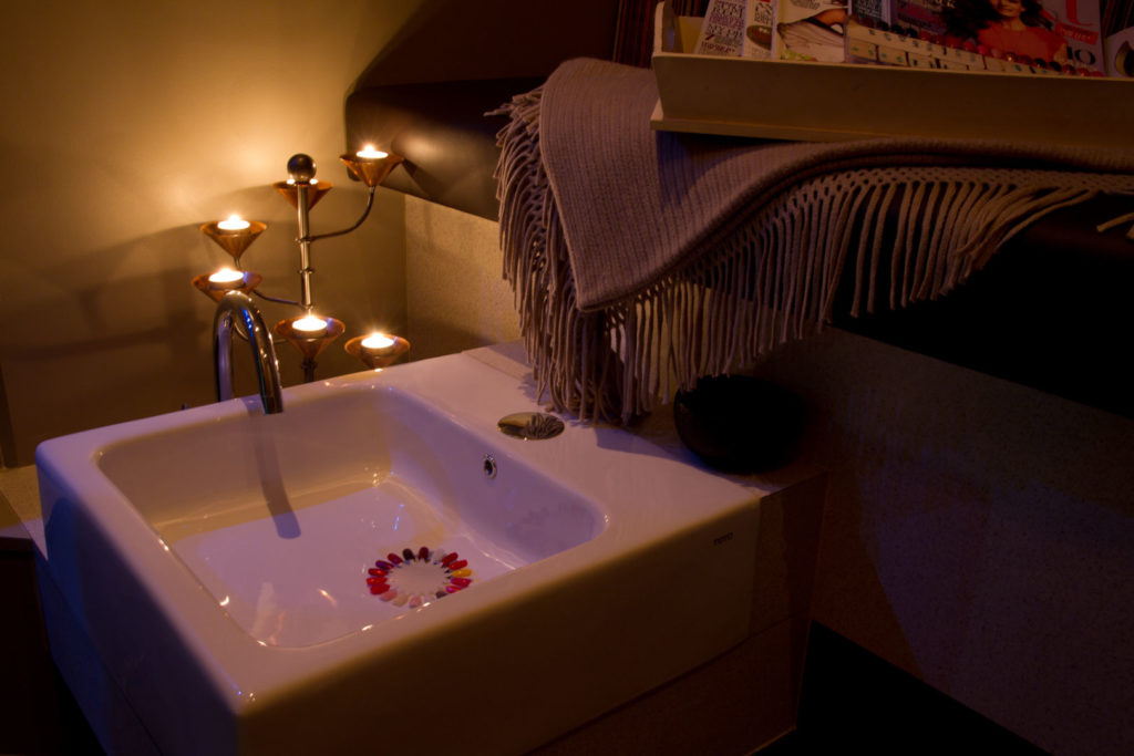 24May Pedi by Candlelight